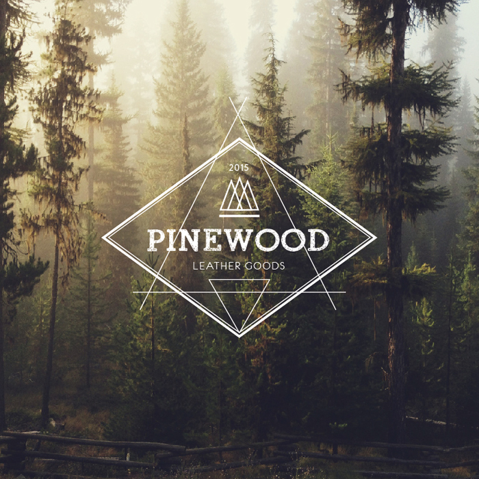 pinewood leather logo blink