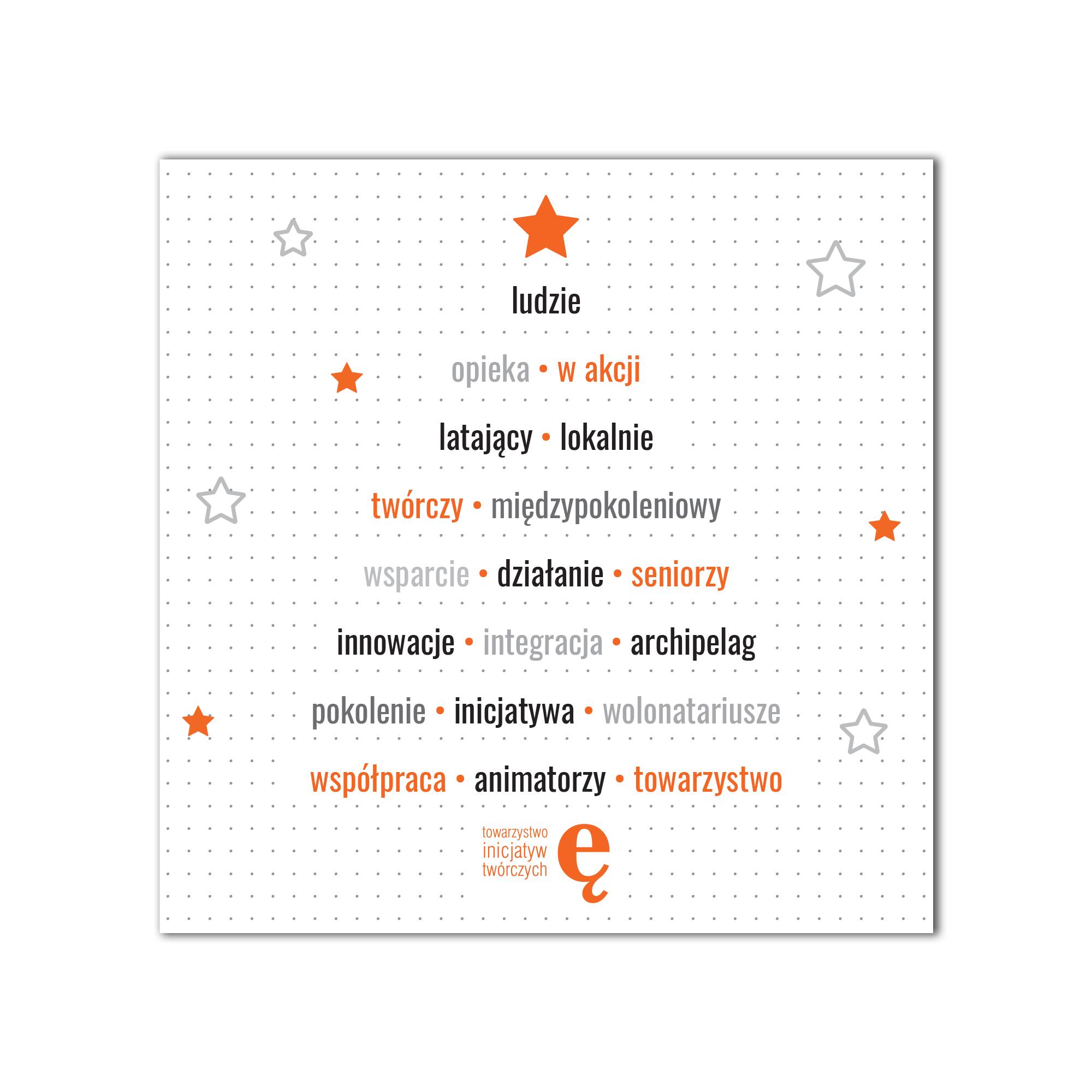 kartka blink towarzystwo inicjatyw twórczych ę