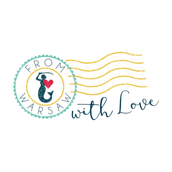 from warsaw with love blinkblink projekty graficzne logo