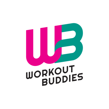Workout buddies logo blinkblink
