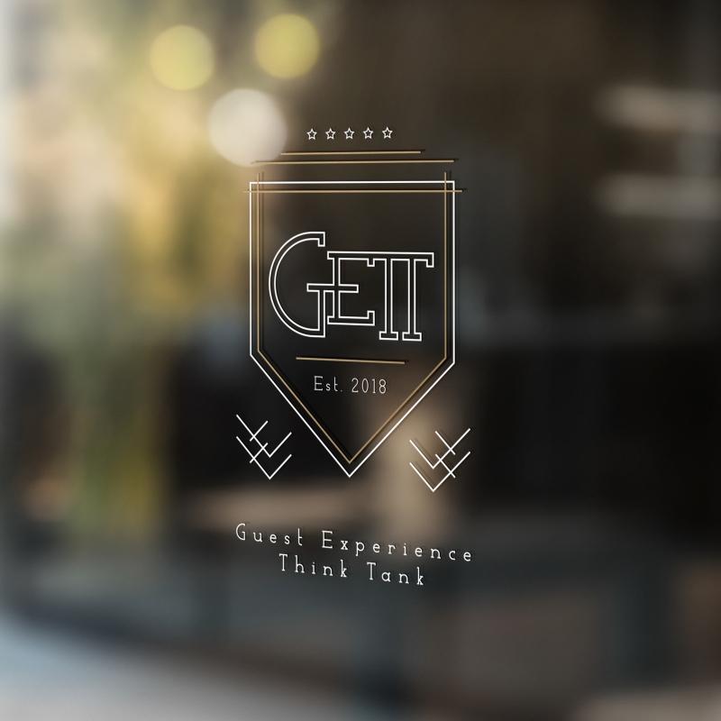 gett logo blinkblink projekty graficzne