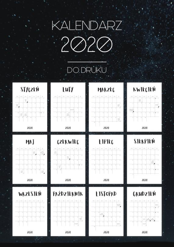 blink kalendarz 2020